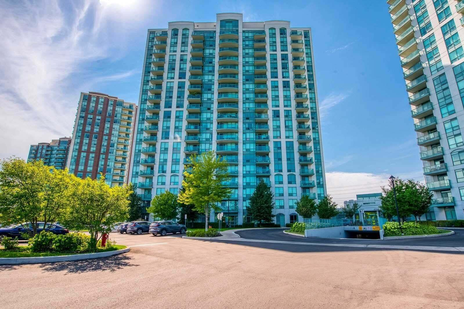 Apartment for rent at 4850 Glen Erin Dr Unit 1907 Mississauga Ontario - MLS: W4835886