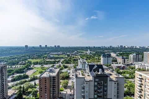 Condo for sale at 9903 104 St Nw Unit 1907 Edmonton Alberta - MLS: E4143127