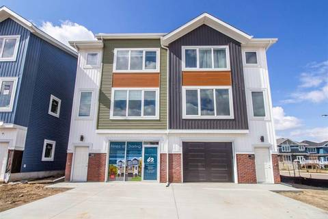 Townhouse for sale at 1907 Tanager Pl Nw Edmonton Alberta - MLS: E4155790