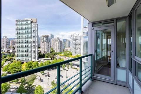 Condo for sale at 1033 Marinaside Cres Unit 1908 Vancouver British Columbia - MLS: R2371360
