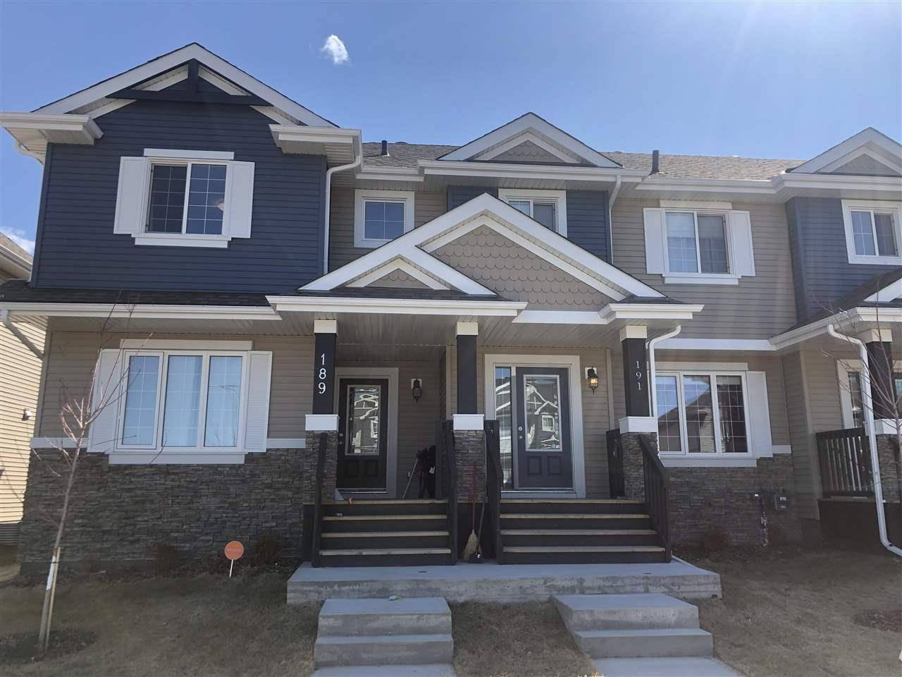 House for sale at 191 Allard Wy Fort Saskatchewan Alberta - MLS: E4184544