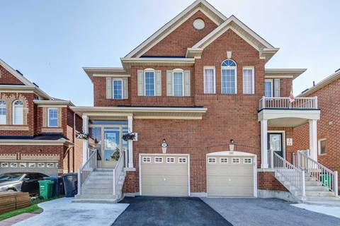 Townhouse for sale at 191 Checkerberry Cres Brampton Ontario - MLS: W4481803