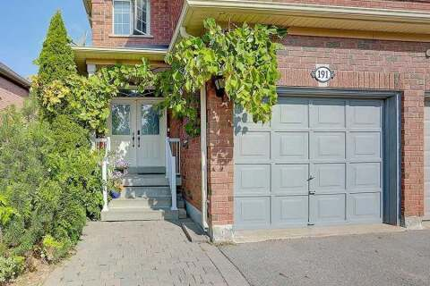 Townhouse for sale at 191 Foxfield Cres Vaughan Ontario - MLS: N4931727