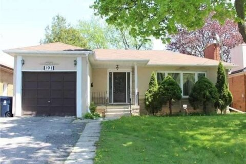 House for rent at 191 Maxome Ave Toronto Ontario - MLS: C4976529