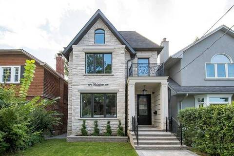 House for sale at 191 Woburn Ave Toronto Ontario - MLS: C4486502