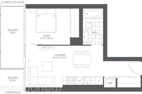 Apartment for rent at 185 Roehampton Ave Unit 1911 Toronto Ontario - MLS: C4862531