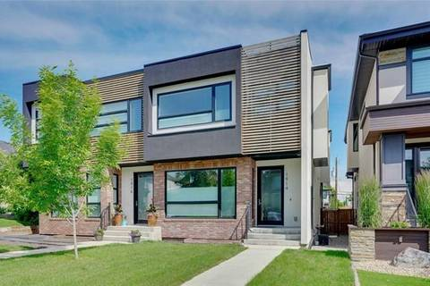 Townhouse for sale at 1914 48 Ave Southwest Calgary Alberta - MLS: C4256897