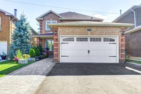 House for sale at 192 Conestoga Dr Brampton Ontario - MLS: W4547547