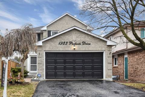 House for sale at 1923 Parkside Dr Pickering Ontario - MLS: E4410886