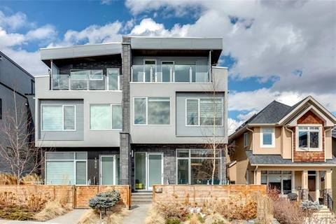 Townhouse for sale at 1924 27 Ave Southwest Calgary Alberta - MLS: C4292129