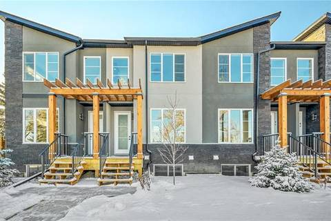 Townhouse for sale at 1927 19 Ave Northwest Calgary Alberta - MLS: C4286731