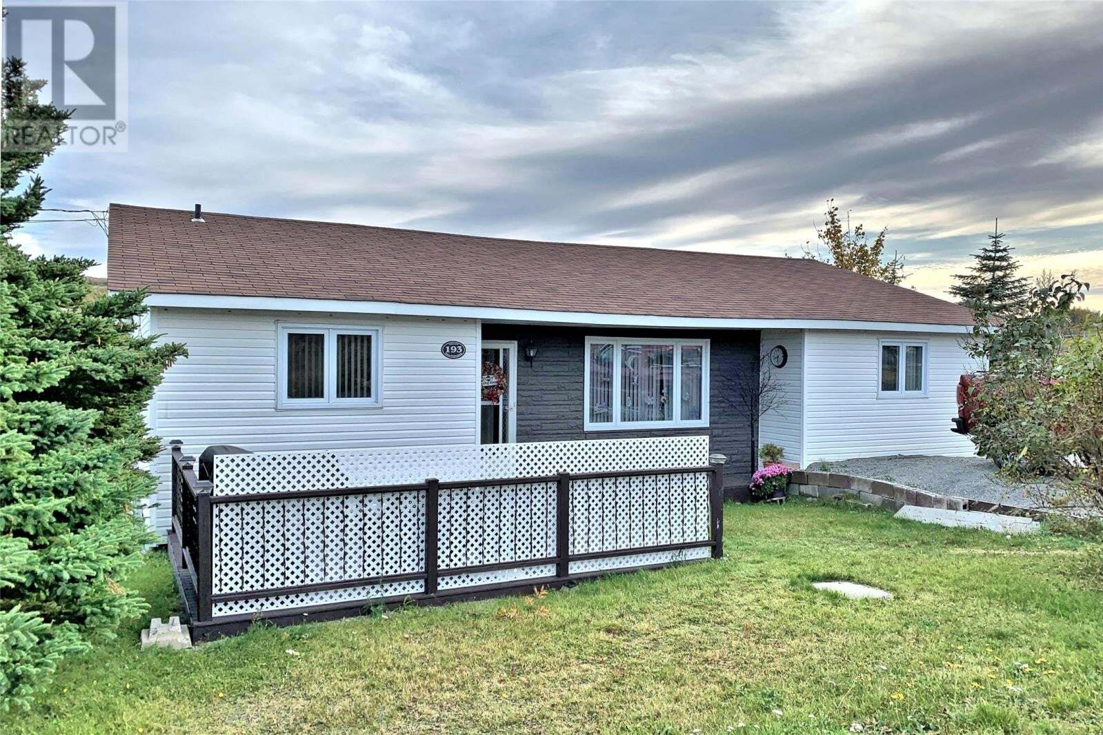 House for sale at 193 Back Track Rd Spaniards Bay Newfoundland - MLS: 1205358