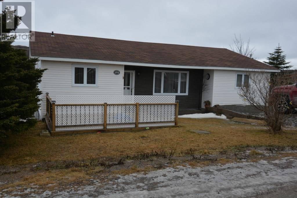 House for sale at 193 Back Track Rd Tilton Newfoundland - MLS: 1191590