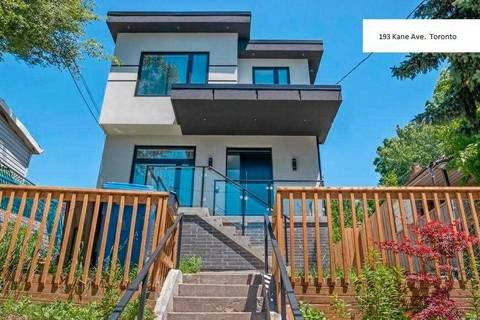 House for sale at 193 Kane Ave Toronto Ontario - MLS: W4423305