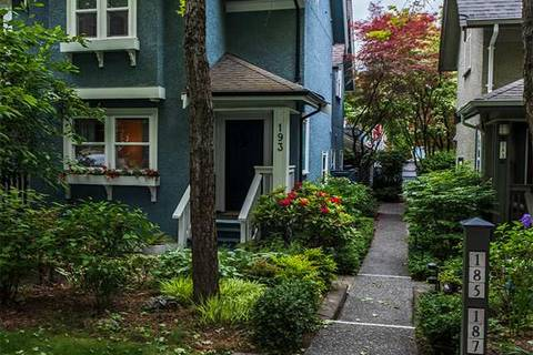Townhouse for sale at 193 13th Ave W Vancouver British Columbia - MLS: R2409380