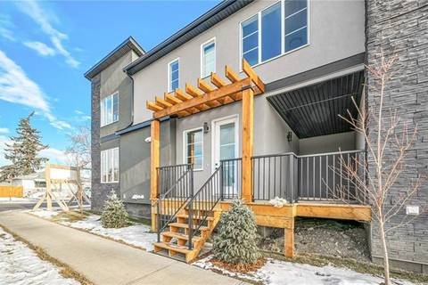 Townhouse for sale at 1933 19 Ave Northwest Calgary Alberta - MLS: C4278313