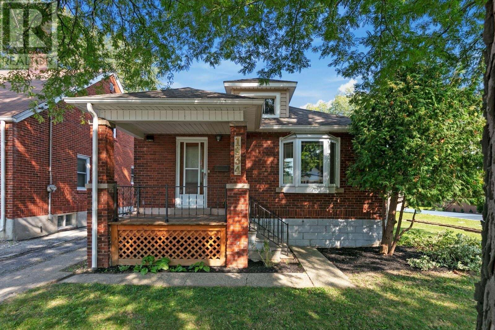 House for sale at 1934 Ford Blvd Windsor Ontario - MLS: 20012682