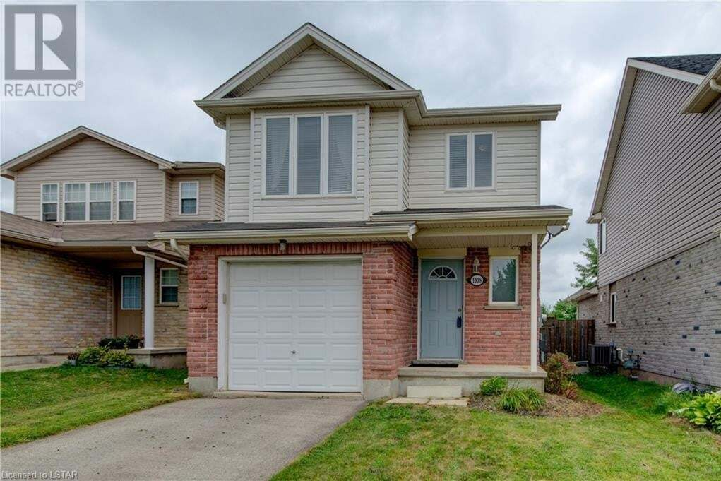 House for sale at 1938 Bloom Cres London Ontario - MLS: 278382