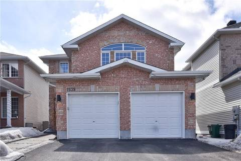 House for sale at 1939 Schroeder Cres Ottawa Ontario - MLS: 1144943