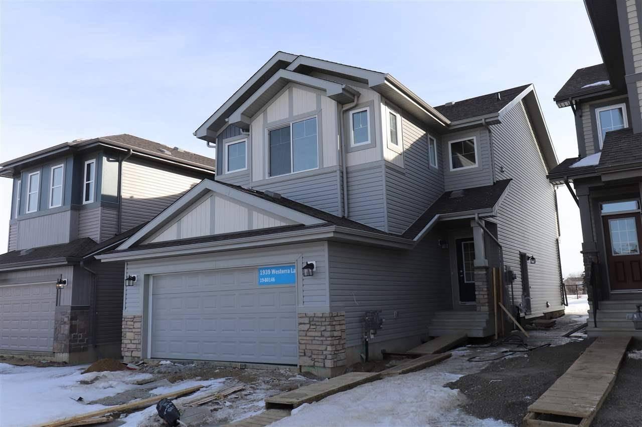 House for sale at 1939 Westerra Ln Stony Plain Alberta - MLS: E4186731