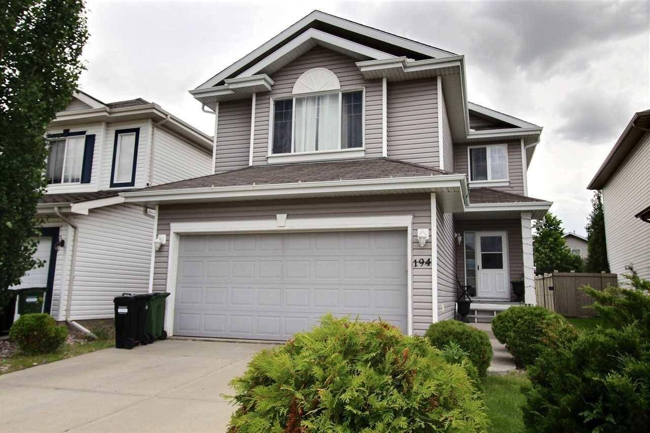 House for sale at 194 Edwards Dr Sw Edmonton Alberta - MLS: E4176328