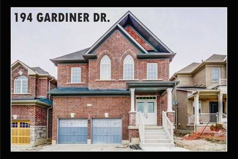 House for sale at 194 Gardiner Dr Bradford West Gwillimbury Ontario - MLS: N4397684