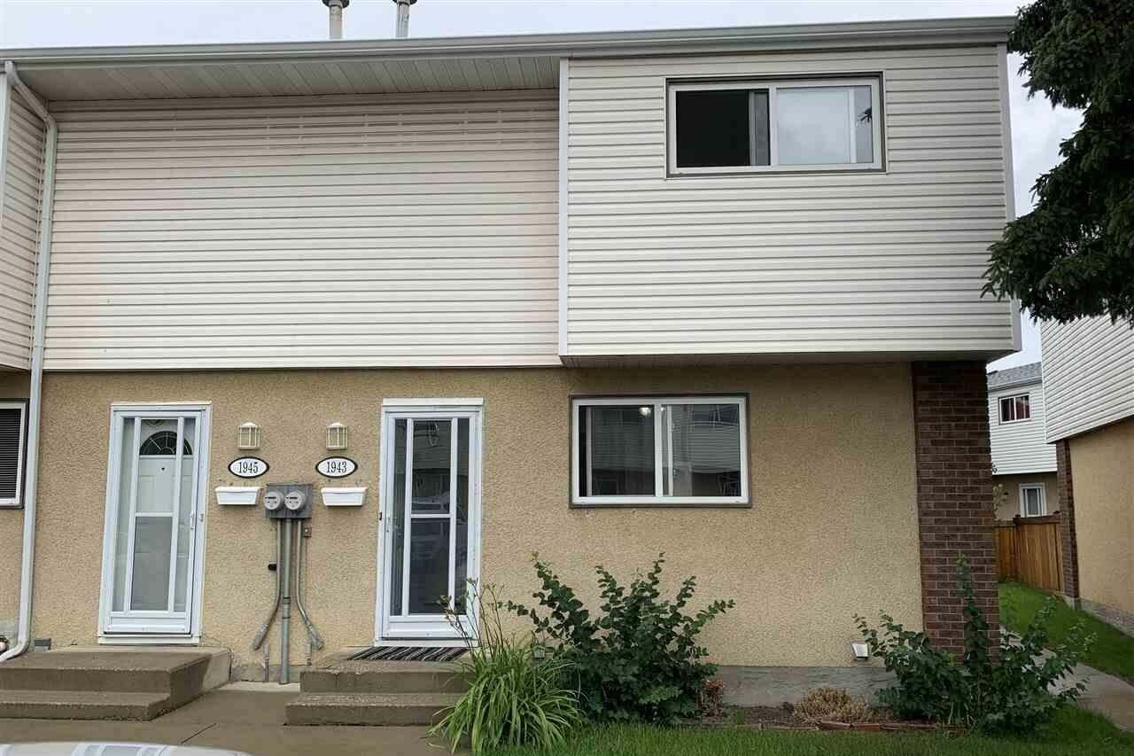Townhouse for sale at 1943 73 St NW Edmonton Alberta - MLS: E4204398