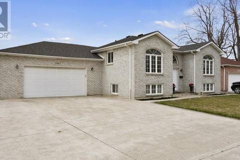 House for sale at 1947 Longfellow  Windsor Ontario - MLS: 19016562