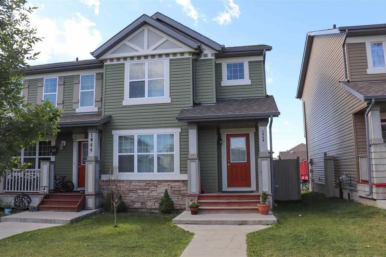 Townhouse for sale at 1948 32 St NW Edmonton Alberta - MLS: E4213918