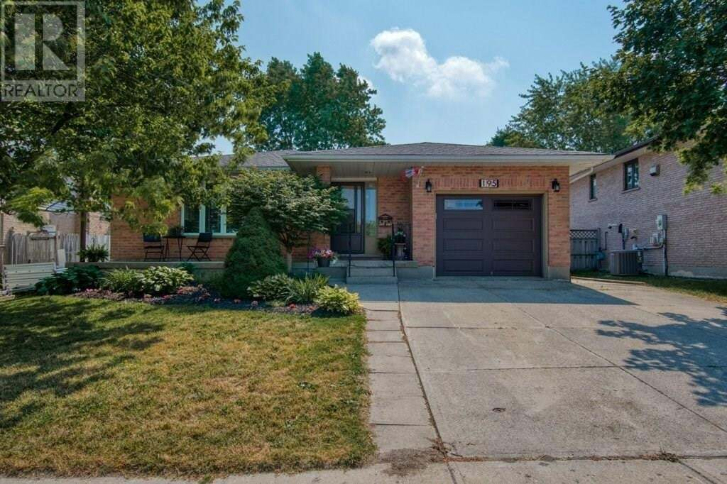House for sale at 195 Freeland Dr Stratford Ontario - MLS: 30821492