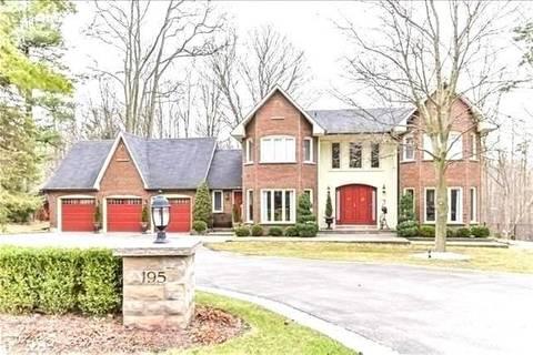 House for sale at 195 Heathwood Heights Dr Aurora Ontario - MLS: N4431408