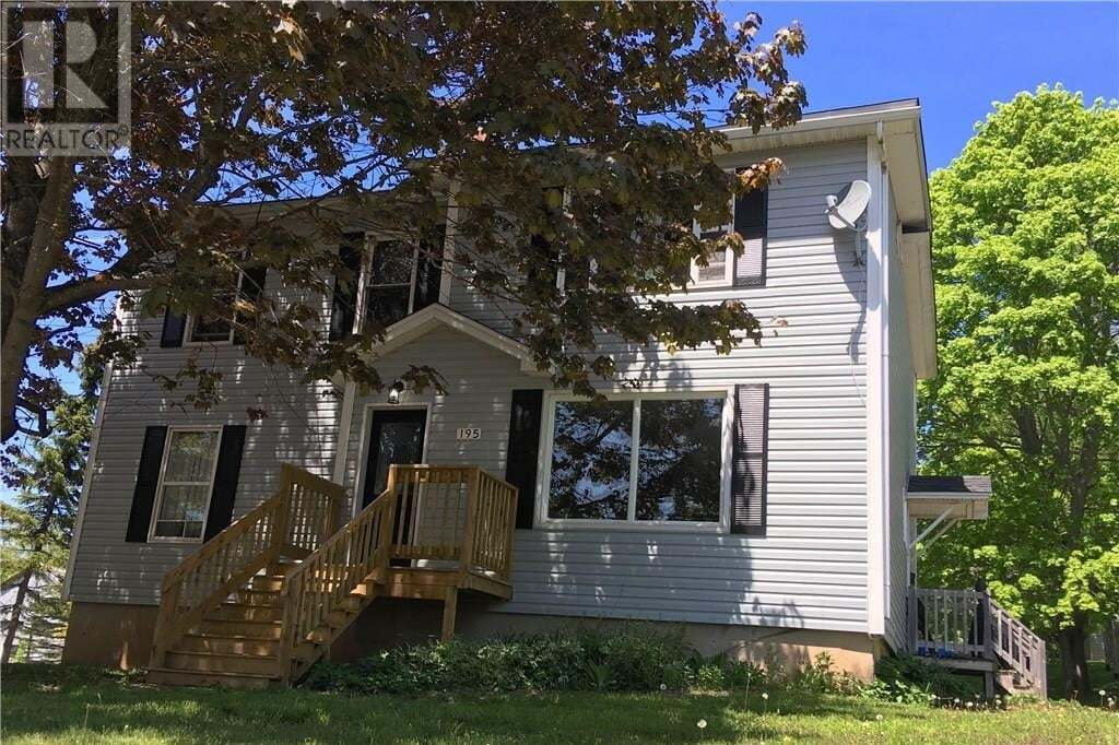 House for sale at 195 Pleasant St Moncton New Brunswick - MLS: M128777
