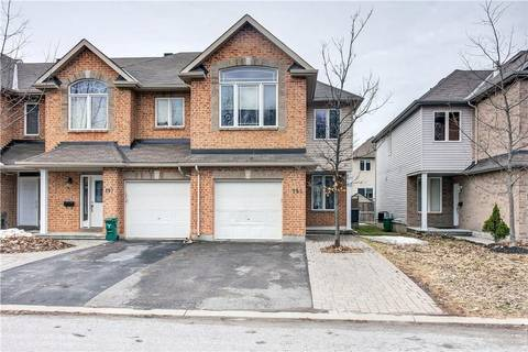 Townhouse for sale at 195 Talltree Cres Ottawa Ontario - MLS: 1147665