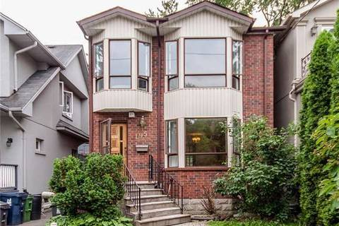 House for rent at 195 Woburn Ave Toronto Ontario - MLS: C4670563