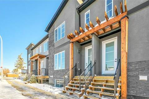 Townhouse for sale at 1958 19 St Northwest Calgary Alberta - MLS: C4277971