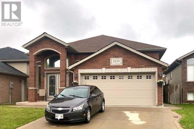 House for sale at 1959 Mckay Ave Windsor Ontario - MLS: 20005790