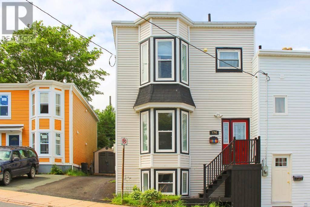 House for sale at 196 Hamilton Ave St. John's Newfoundland - MLS: 1211327