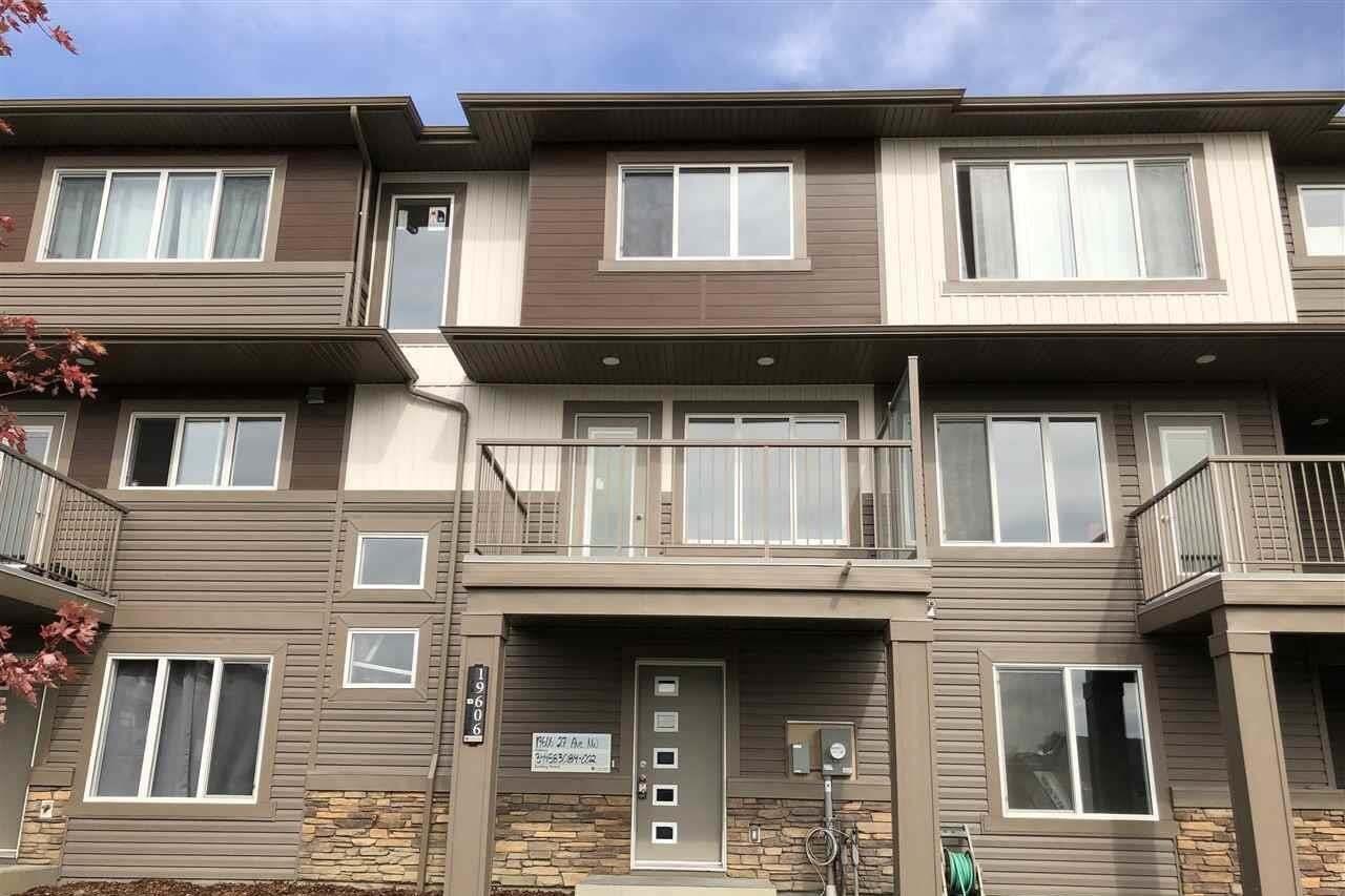 House for sale at 19606 27 Av NW Edmonton Alberta - MLS: E4203225