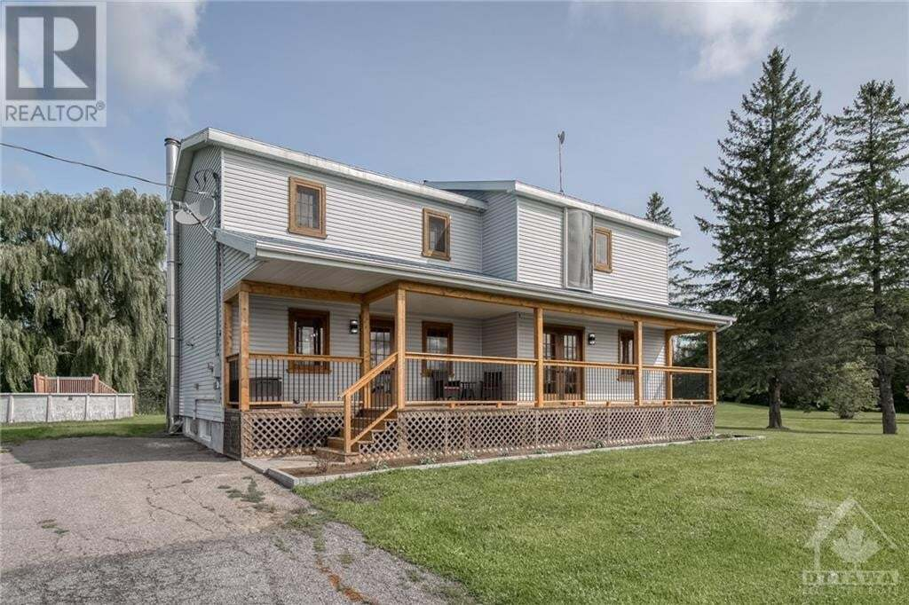 House for sale at 1961 Concession 1 Rd Alfred Ontario - MLS: 1207387