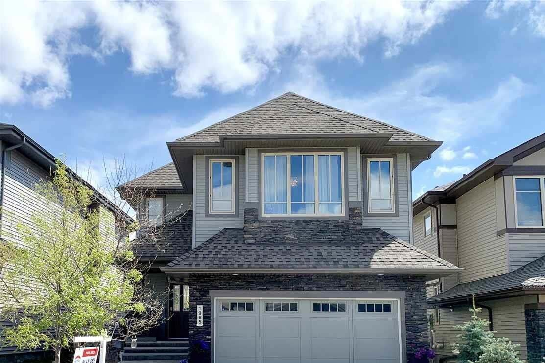 House for sale at 1965 Ainslie Li SW Edmonton Alberta - MLS: E4188077