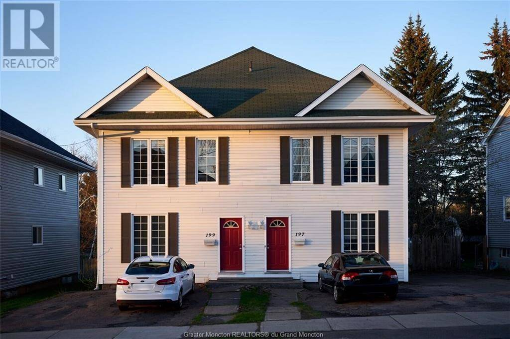 Townhouse for sale at 197 King St Moncton New Brunswick - MLS: M126686