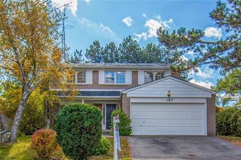 House for sale at 197 Cassandra Blvd Toronto Ontario - MLS: C4612925