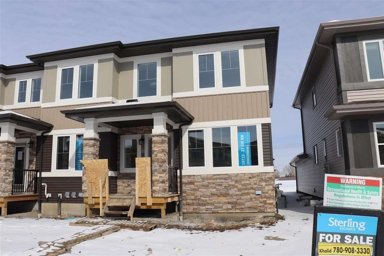 House for sale at 19712 27 Av NW Edmonton Alberta - MLS: E4186900