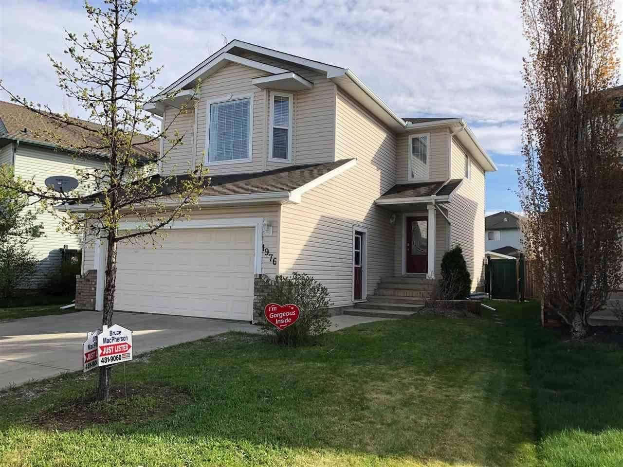 House for sale at 1976 Garnett Wy Nw Edmonton Alberta - MLS: E4178085