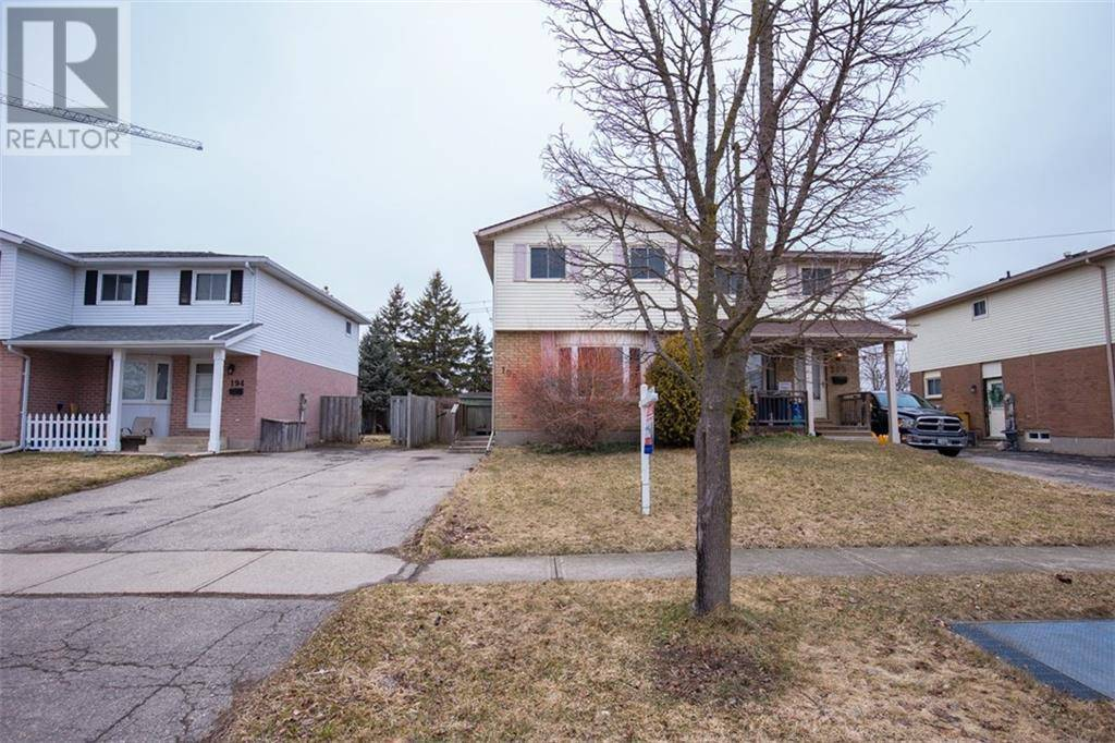 House for sale at 198 Newbury Dr Kitchener Ontario - MLS: 30799620