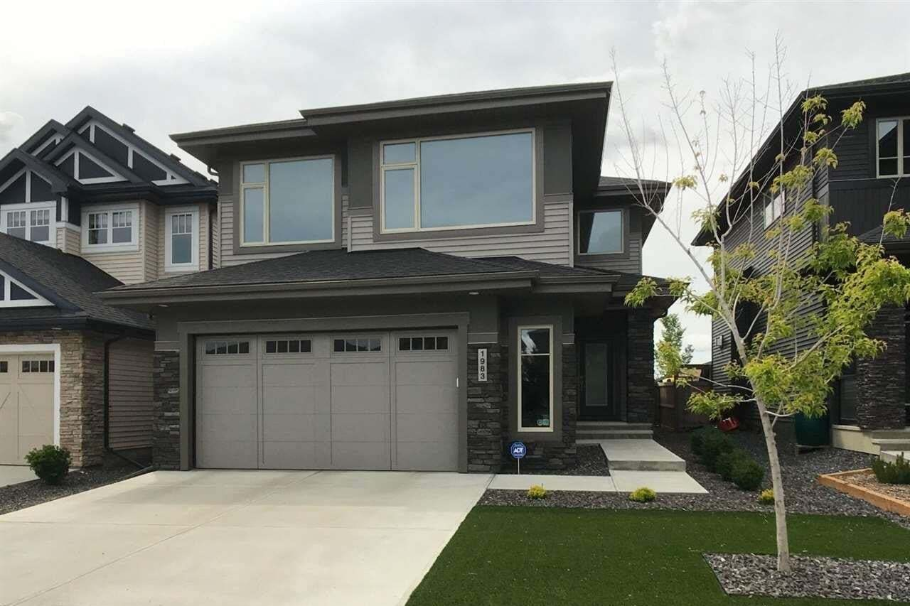House for sale at 1983 Ainslie Li SW Edmonton Alberta - MLS: E4197793