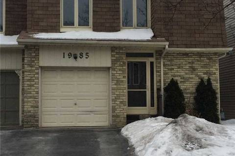 Townhouse for sale at 1985 Bowler Dr Pickering Ontario - MLS: E4369566