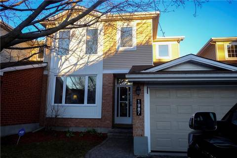 Townhouse for sale at 1987 Crestmont Pl Ottawa Ontario - MLS: 1149461