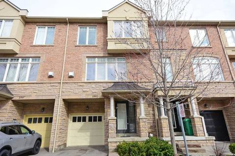 Townhouse for sale at 1993 Oana Dr Mississauga Ontario - MLS: W4477274