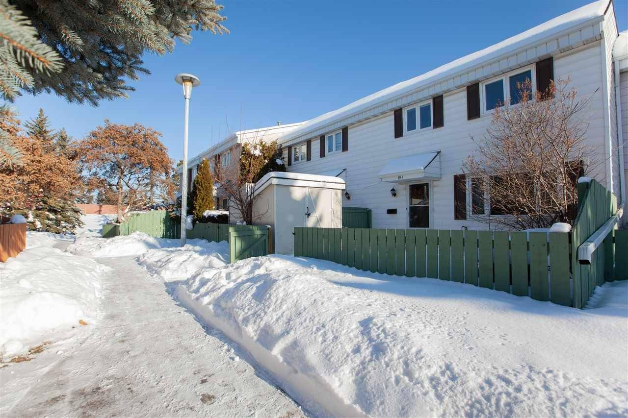 Townhouse for sale at 19 Callingwood Ct Nw Edmonton Alberta - MLS: E4185748